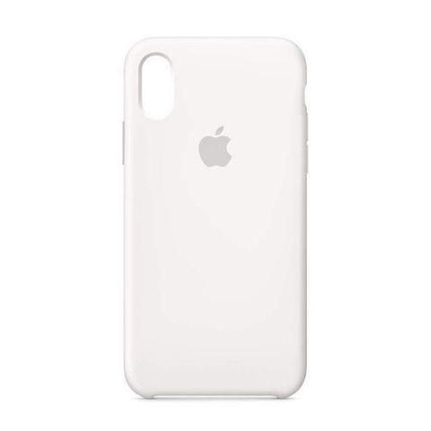 Imagem de Capa para iPhone XR Silicone Case - Branco