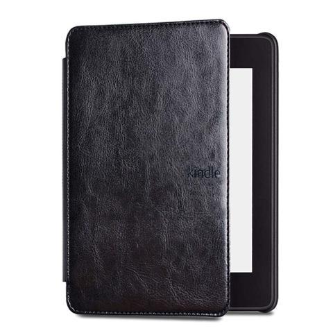 Imagem de Capa para Kindle da 10 geração iluminação embutida - Couro rígida - tampa magnética