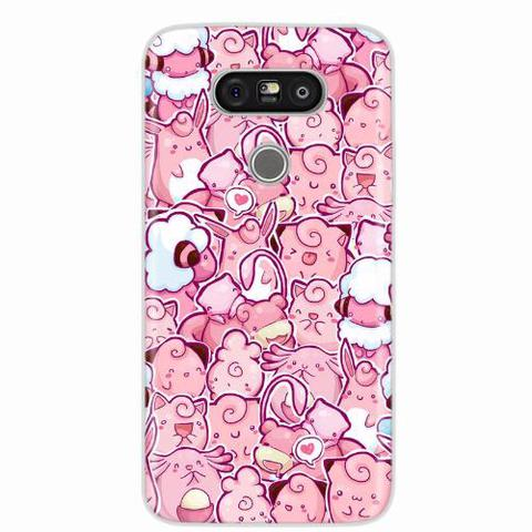 Imagem de Capa para LG G5 Pokemons Rosa