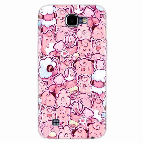 Imagem de Capa para LG K4 Pokemons Rosa