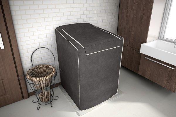 Imagem de Capa para Maquina De Lavar 12,13,15 e 16 Kg Electrolux - Cor Café