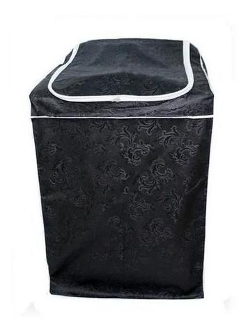 Imagem de Capa Para Maquina De Lavar Brastemp / Electrolux / Consul 12kg 15kg 16kg Com Zíper Cinza