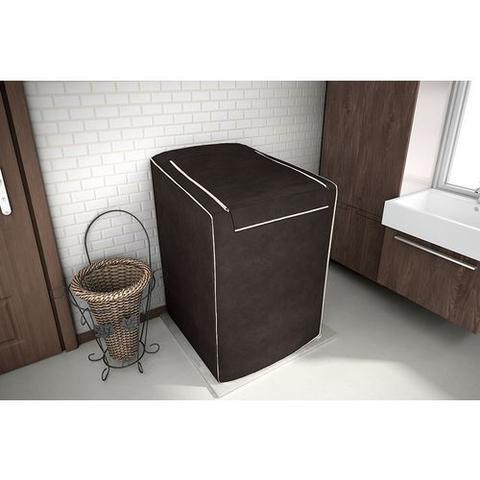 Imagem de Capa para máquina de lavar Eletrolux, Brastemp, Consul 12, 13, 15 e 16 KG Café