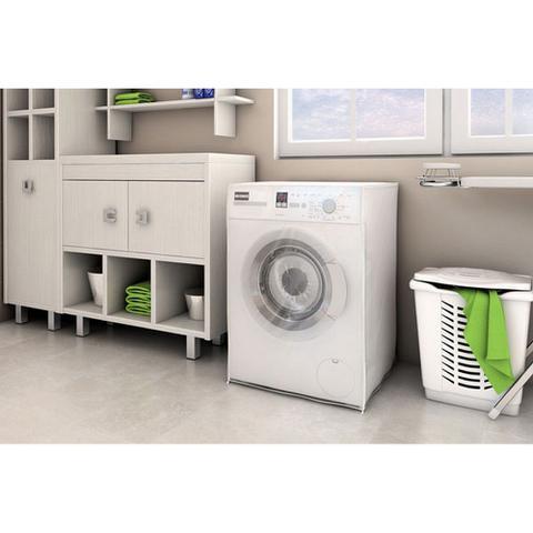 Imagem de Capa Para Máquina De Lavar Roupa Adomes M3052 Com Abertura Frontal Transparente
