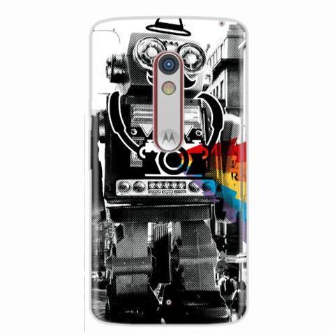 Imagem de Capa para Moto G3 Câmera Robot