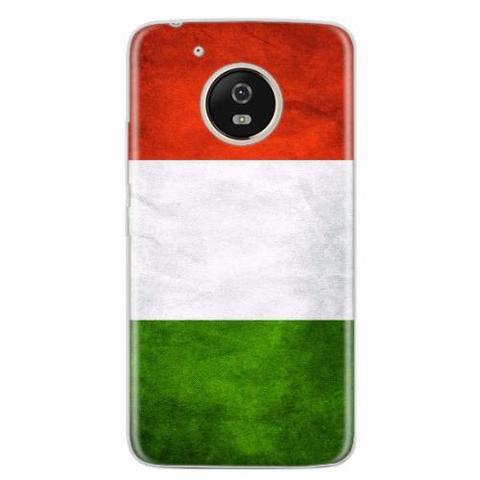 Imagem de Capa para Moto G5 Bandeira Itália