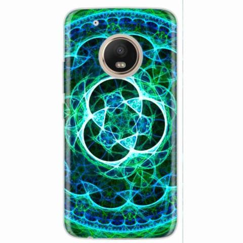 Imagem de Capa para Moto G5 Plus Mandala Psicodélica 03