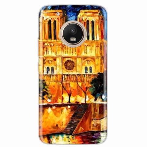 Imagem de Capa para Moto G5 Plus Notre Dame