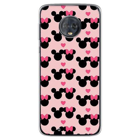 Imagem de Capa para Moto G6 Play - Minnie e Mickey  Love