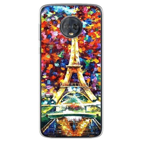 Imagem de Capa para Moto G6 Play - Torre Eiffel 3