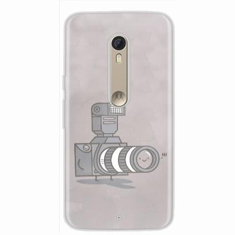 Imagem de Capa para Moto X Style Câmera Toon