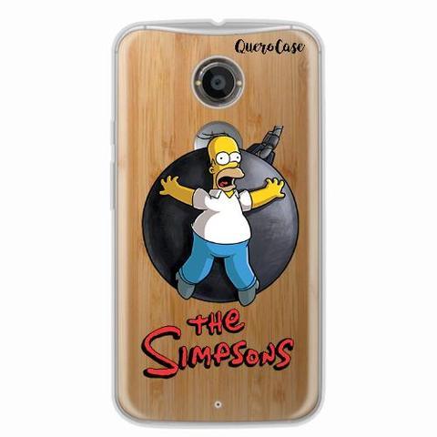 Imagem de Capa para Moto X2 Homer Simpsons 05