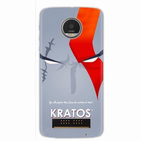 Imagem de Capa para Moto Z Play God of War Kratos 03