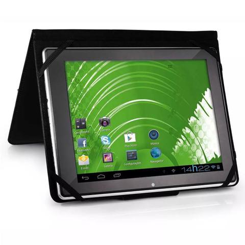 "Imagem de Capa para Tablet 9.7"" Polegadas Nylon Multilaser BO184 Case Preto"
