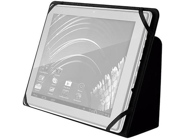 """Imagem de Capa para Tablet até 7"""" Preto BO182"""