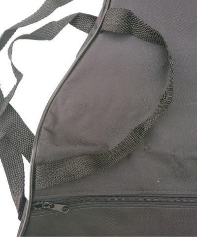 Imagem de Capa Para Violão Folk Comum CLAVE  BAG. No formato do violão. Bolso, Alça de mão e tira-colo. CM503