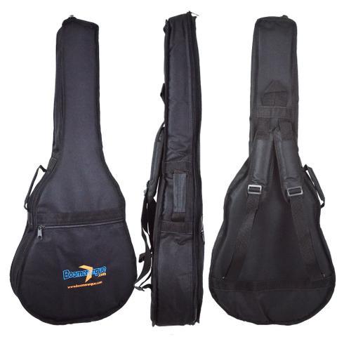 Imagem de Capa para Violão Folk Extra Acolchoada em Nylon 600 JPG Loja