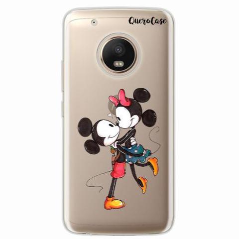 Imagem de Capa para Xperia M4 Aqua Mickey e Minnie 06