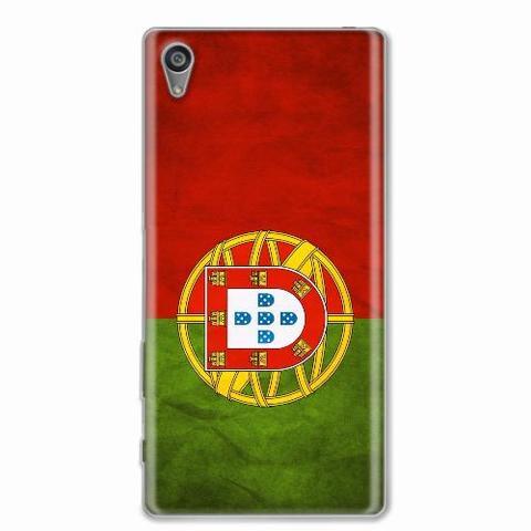 Imagem de Capa para Xperia Z5 5.2 Bandeira Portugal
