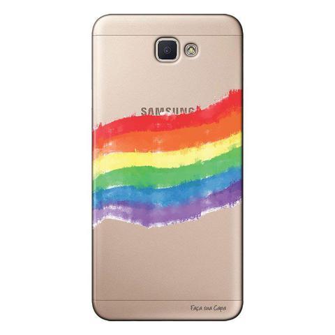 Imagem de Capa Personalizada para Galaxy j7 Prime LGBT - LB05