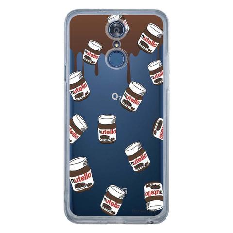 Imagem de Capa Personalizada para LG Q7/Q7+ Nutella - TP109