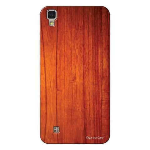 Imagem de Capa Personalizada para LG X Style K200 Madeira Verniz - TX45