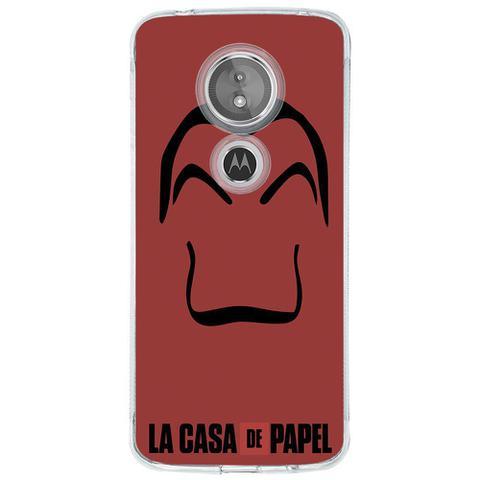 Imagem de Capa Personalizada para Motorola Moto E5 La Casa de Papel - TP344