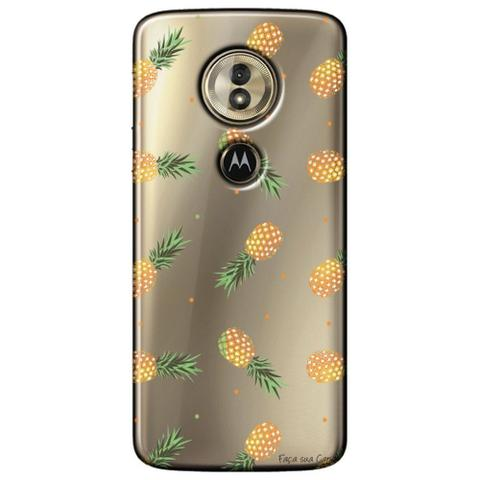 Imagem de Capa Personalizada para Motorola Moto G6 Play - Abacaxis - TP320