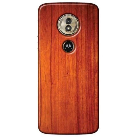 Imagem de Capa Personalizada para Motorola Moto G6 Play - Madeira Verniz - TX45