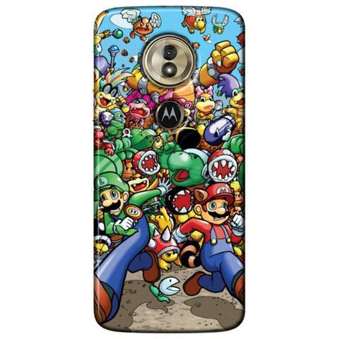 Imagem de Capa Personalizada para Motorola Moto G6 Play - Super Mario - GA27