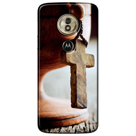 Imagem de Capa Personalizada para Motorola Moto G6 Play - Terço - RE03
