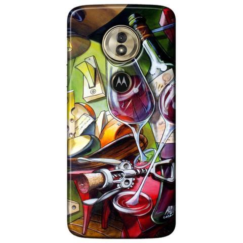 Imagem de Capa Personalizada para Motorola Moto G6 Play - Vinho ao Luar - DE35