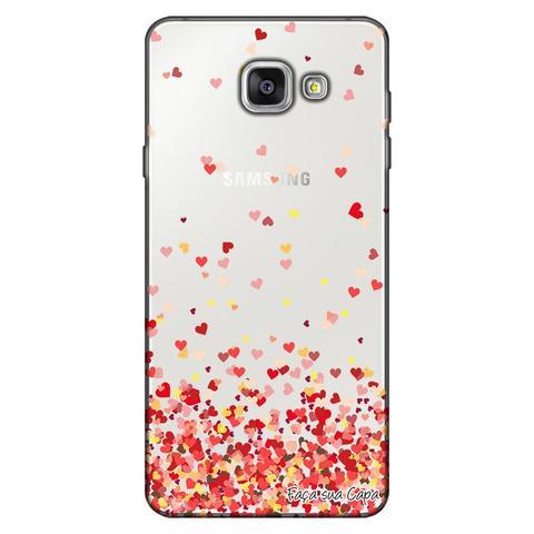 Imagem de Capa Personalizada para Samsung Galaxy A3 2016 Corações - TP168