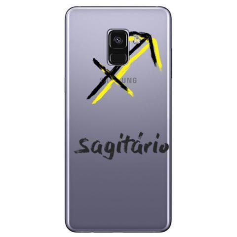 Imagem de Capa Personalizada para Samsung Galaxy A8 2018 Plus - Sagitário - SN33