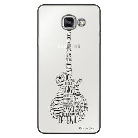 Imagem de Capa Personalizada para Samsung Galaxy A9 A910 Guitarra - TP39