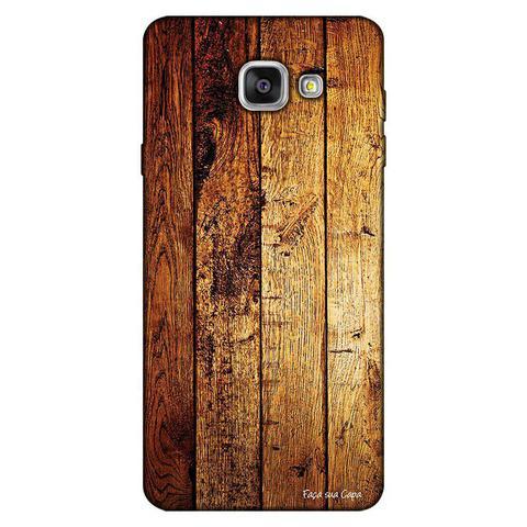 Imagem de Capa Personalizada para Samsung Galaxy A9 A910 Madeira - TX59