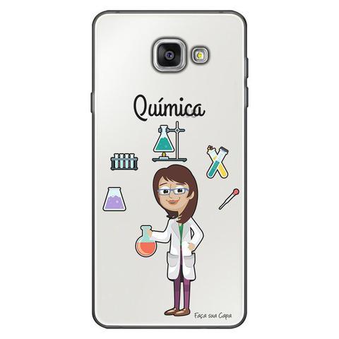 Imagem de Capa Personalizada para Samsung Galaxy A9 A910 Química - TP219