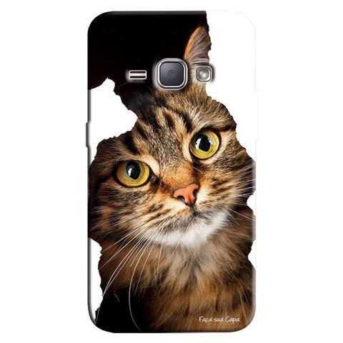 Imagem de Capa Personalizada para Samsung Galaxy J1 2016 Gato Persa - PE52