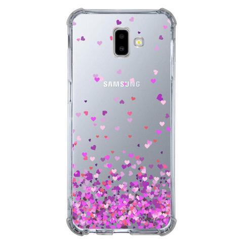 Imagem de Capa Personalizada para Samsung Galaxy J6 Plus J610 Corações - TP167
