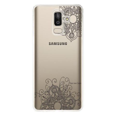 Imagem de Capa Personalizada para Samsung Galaxy J8 J800 Mandala - TP255