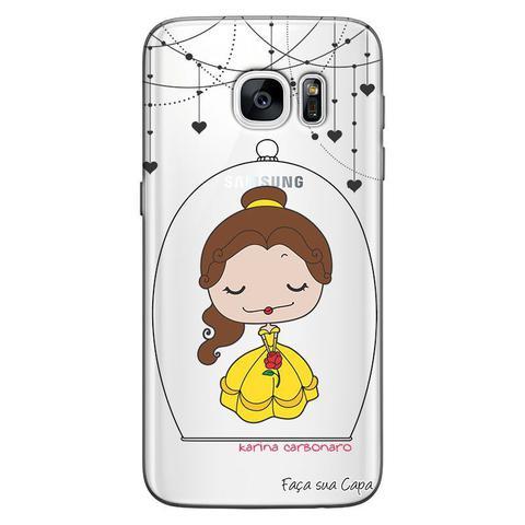 Imagem de Capa Personalizada para Samsung Galaxy S7 Edge G935 Princesa Bela - TP100