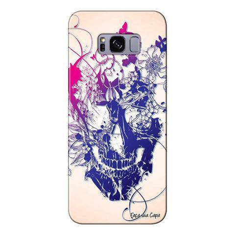 Imagem de Capa Personalizada para Samsung Galaxy S8 Plus G955 Caveira - CV31