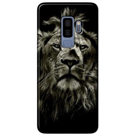 Imagem de Capa Personalizada para Samsung Galaxy S9 Plus G965 - Leão - PE08