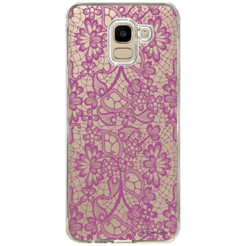 Imagem de Capa Personalizada Samsung Galaxy J6 J600 Rendas - TP281