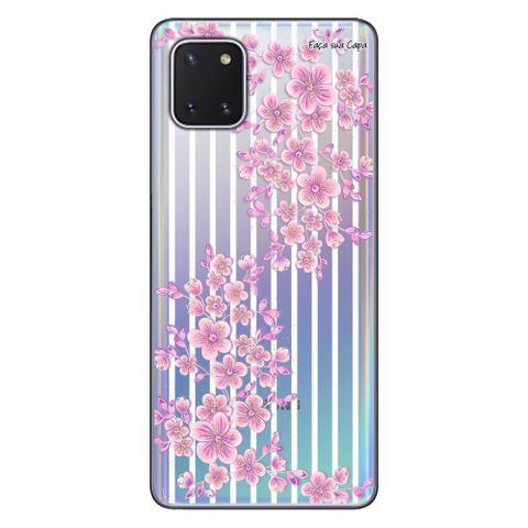 Imagem de Capa Personalizada Samsung Galaxy Note 10 Lite - Floral - FL27