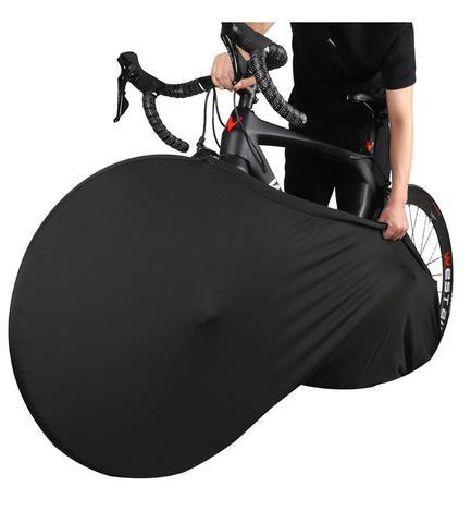 Imagem de Capa Protetora Cobrir Rodas Bicicleta Bike Estampada Indoor Blue Sky