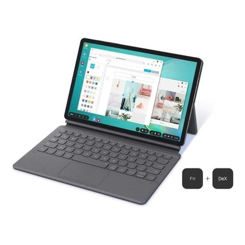 Imagem de Capa Protetora Com Teclado Samsung Galaxy Tab S6 Preta