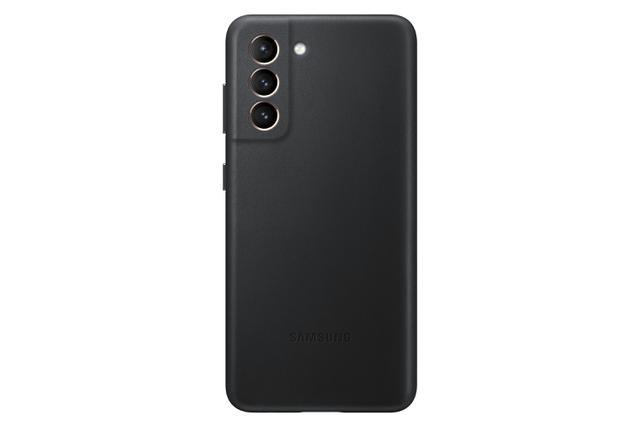 Imagem de Capa Protetora de Couro Para Smartphone Galaxy S21