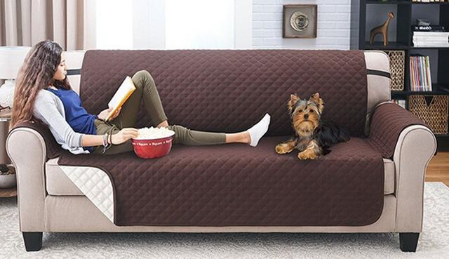 Imagem de Capa Protetora De Sofa Para Pet Cachorro Gato Bebida Comida (88846)