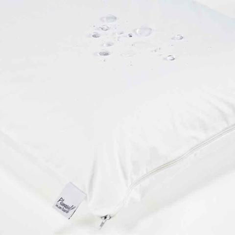 Imagem de Capa Protetora Impermeável Soft Touch para Travesseiro 1 peça - 50x90 - Microfibra 300 Fios - 100 P